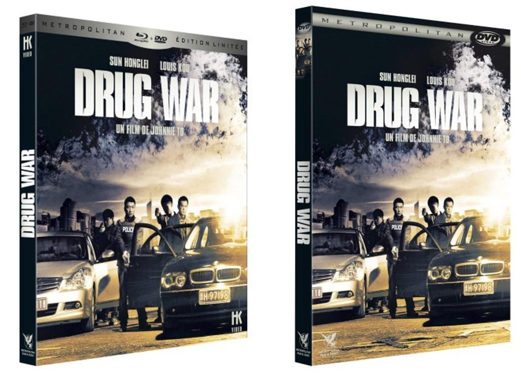 DRUG WAR - visuels France DVD Blu-ray - Go with the Blog