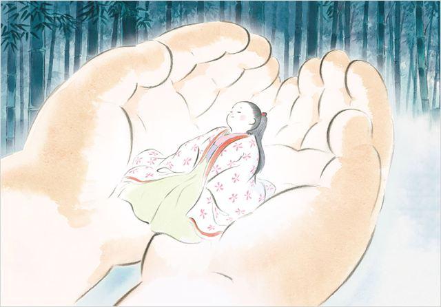 LE CONTE DE LA PRINCESSE KAGUYA - image du film 2 - Go with the Blog