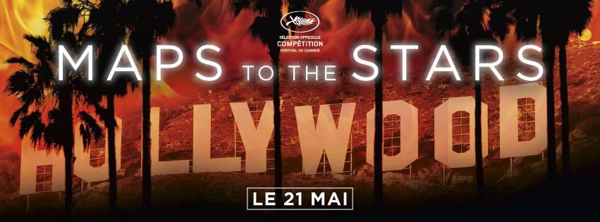 MAPS TO THE STARS - bannière du film - Robert Pattinson - Go with the Blog