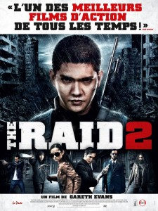 THE RAID 2 - affiche France - Go with the Blog