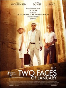 THE TWO FACES OF JANUARY - affiche France - Go with the Blog