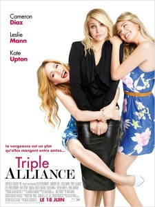 TRIPLE ALLIANCE - affiche française - Go with the Blog