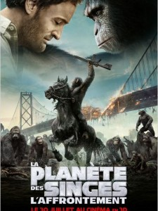 la planète des singes - l'affrontement - affiche du film - go with the blog