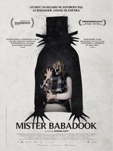 mister babadook  - affiche du film  - go with the blog