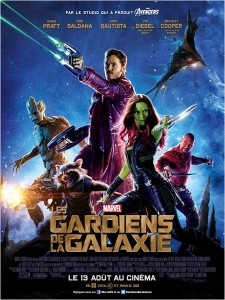 LES GARDIENS DE LA GALAXIE - AFFICHE FRANCE - Go with the Blog