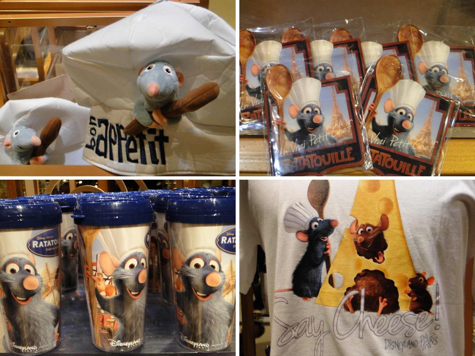 RATATOUILLE Attraction Disneyland Paris - Merchandising 4 photos - Go with the Blog