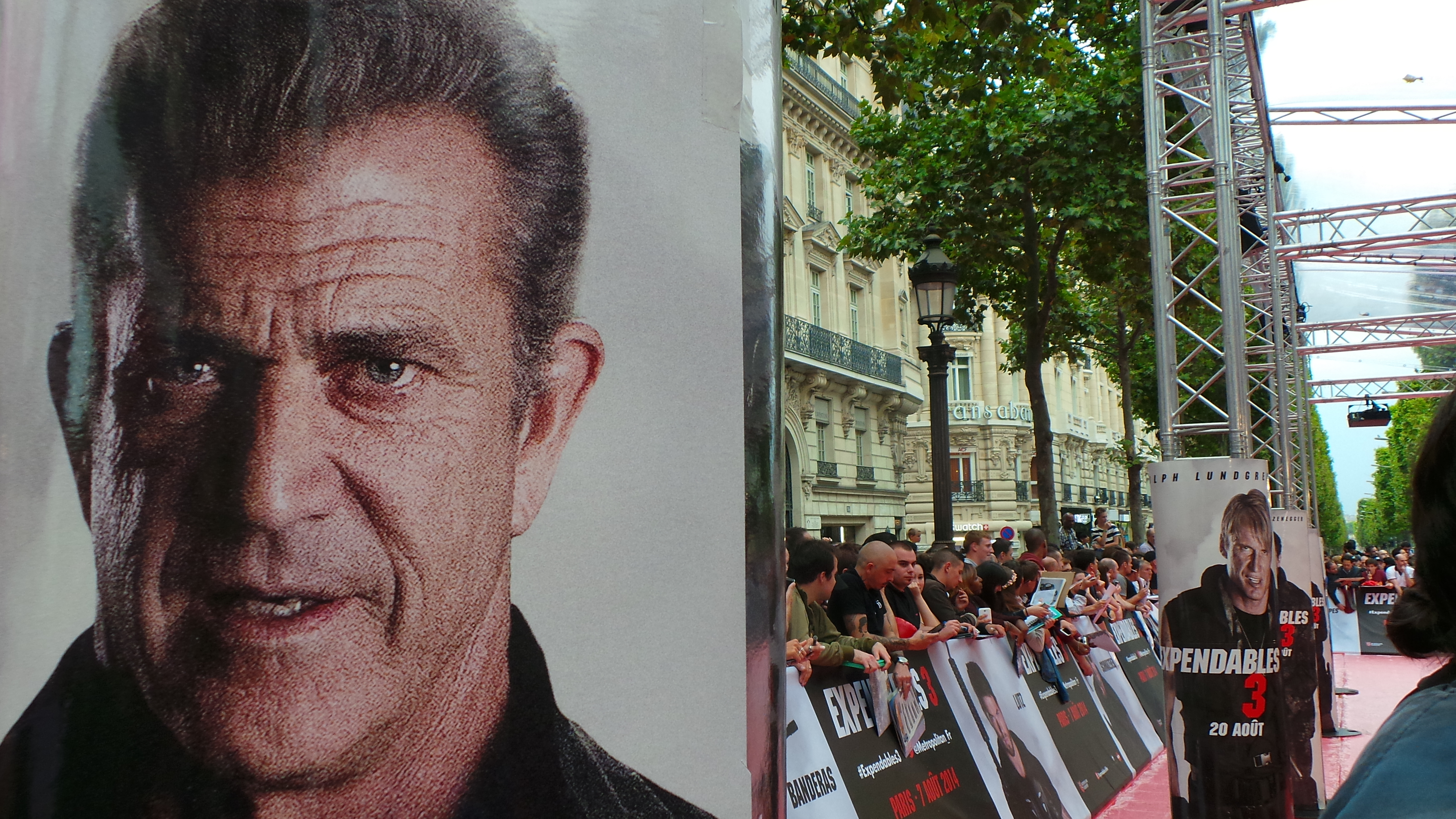EXPENDABLES 3 - avant première Paris France - Go with the Blog