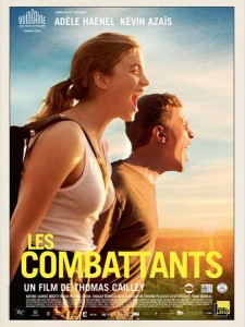 les combattants - affiche du film - go with the blog