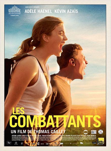 les combattants - affiche du film - go with the blog