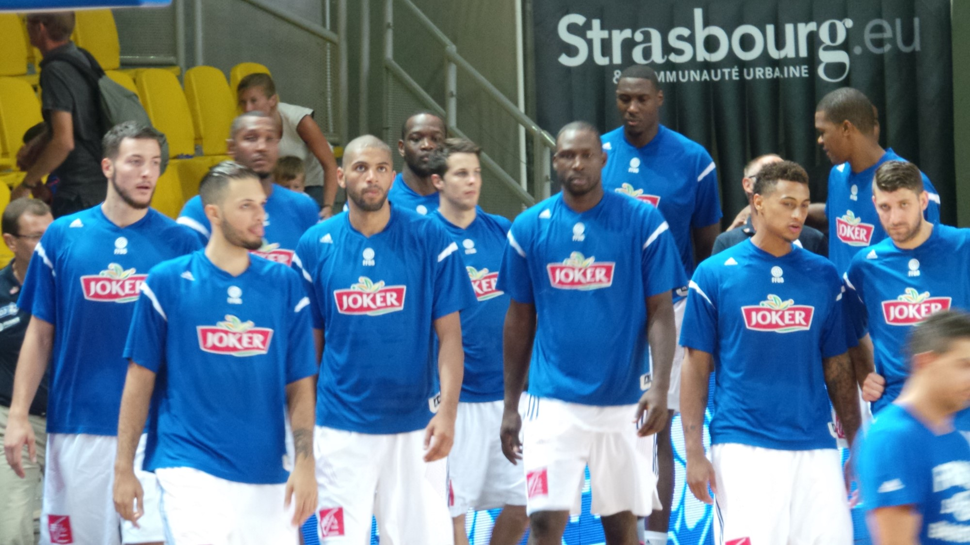 EDF BASKET Equipe de France 2014 Batum Lauvergne Pietrus Diaw - Go with the Blog
