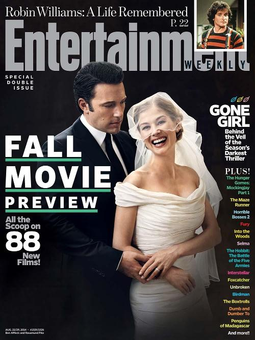 ENTERTAINMENT WEEKLY - Gone Girl Cover - Go with the Blog