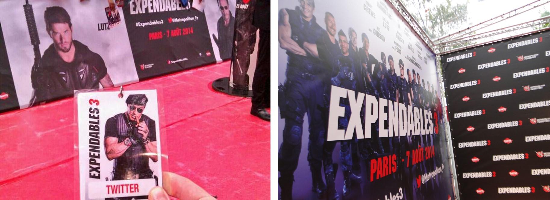 EXPENDABLES 3 - Avant-première Paris Aout 2014 6 - Go with the Blog