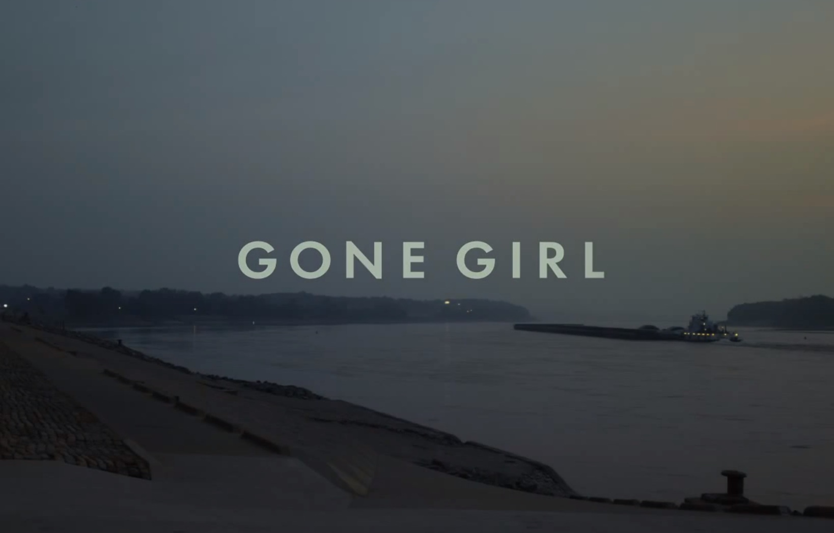 GONE GIRL - teaser poster - Go with the Blog