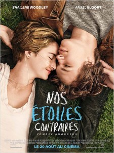 NOS ETOILES CONTRAIRES THE FAULT IN OUR STARS affiche - Go with the Blog
