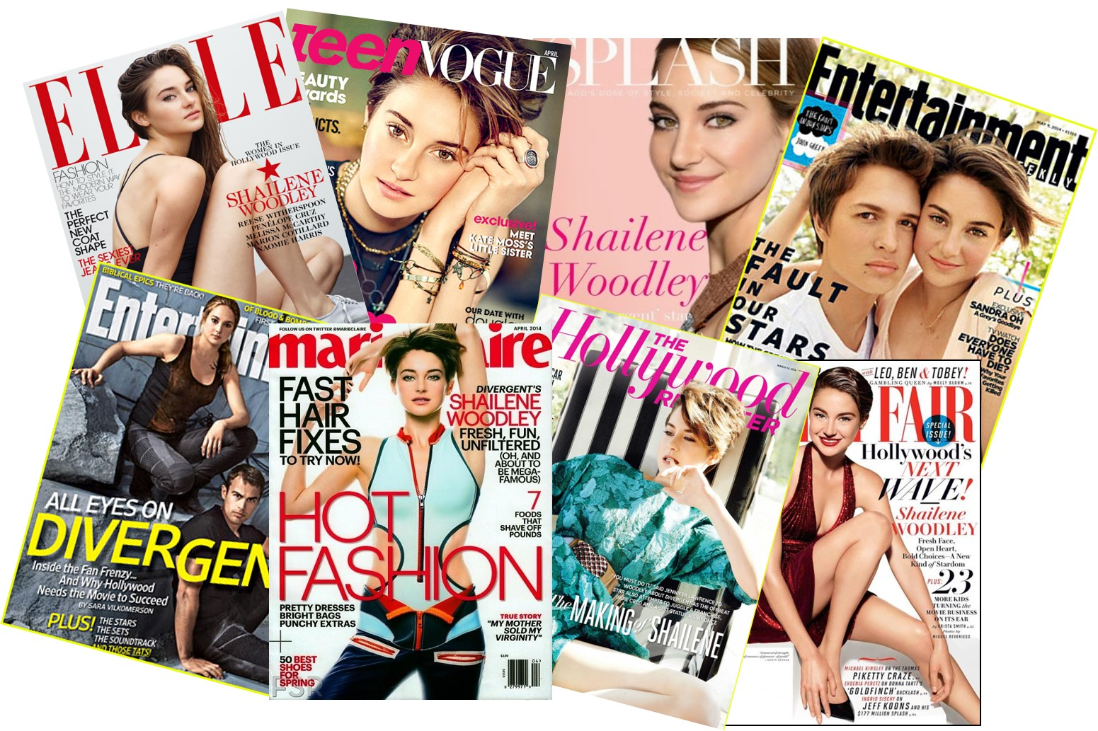 SHAILENE WOODLEY - Covers Magazines - Go with the Blog