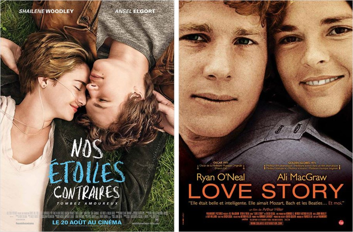 THE FAULT IN OUR STARS - LOVE STORY - Go with the Blog