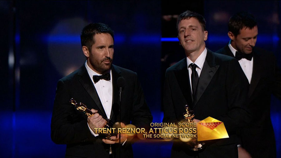 TRENT REZNOR ATTICUS - The Social Network Oscar - Go with the Blog