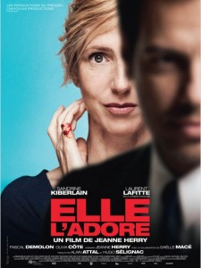 ELLE L'ADORE - affiche Sandrine Kiberlain - Studio Canal - Go with the Blog