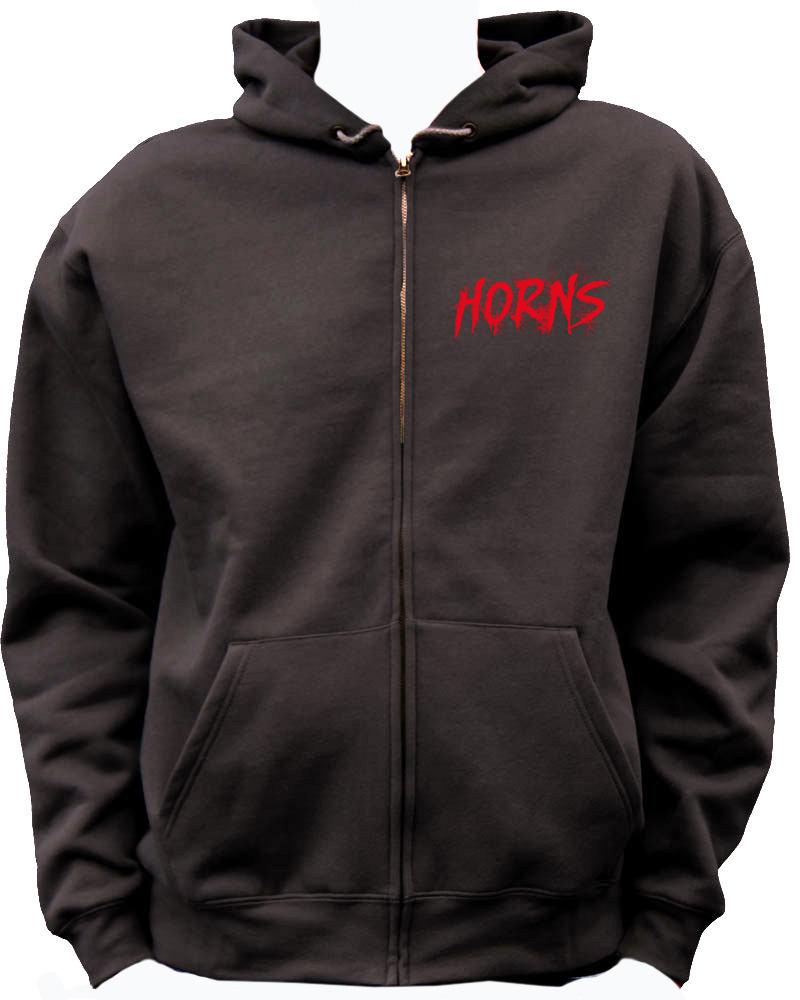 HORNS - CONCOURS sweat collector from the movie - Go with the Blog