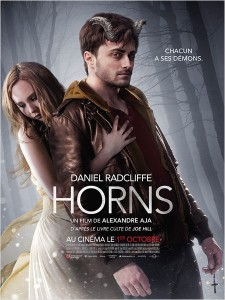HORNS - affiche France Daniel Radcliffe Juno Temple - Go with the Blog