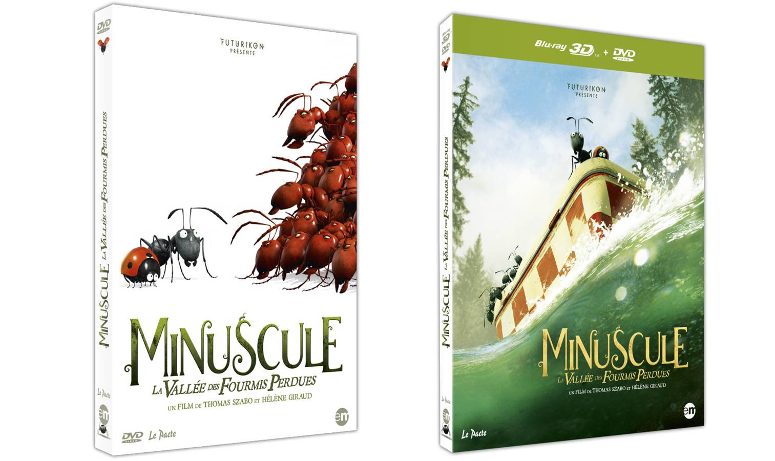MINUSCULE - film animation en DVD Bluray fourmis éditions Montparnasse - Go with the Blog