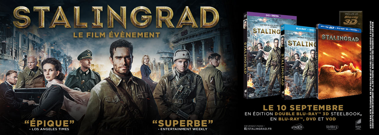 STALINGRAD_Film Sortie DVD Blu-ray - Concours Go with the Blog