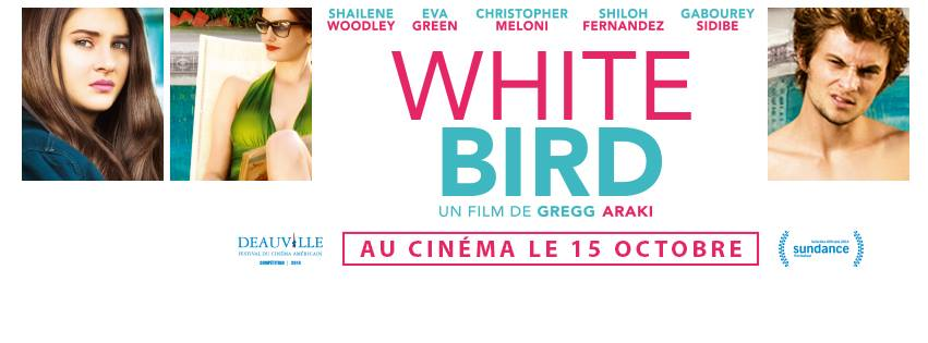 WHITE BIRD - visuel France bandeau Facebook film Araki - Go with the Blog