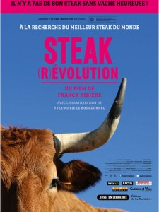 Steak (r)evolution - affiche du film - go with the blog
