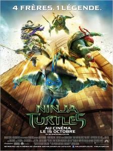 NINJA TURTLES - go with the blog - affiche du film
