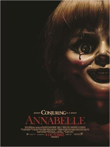 ANNABELLE - affiche France poupée film 2014 Spin off Conjuring - Go with the Blog
