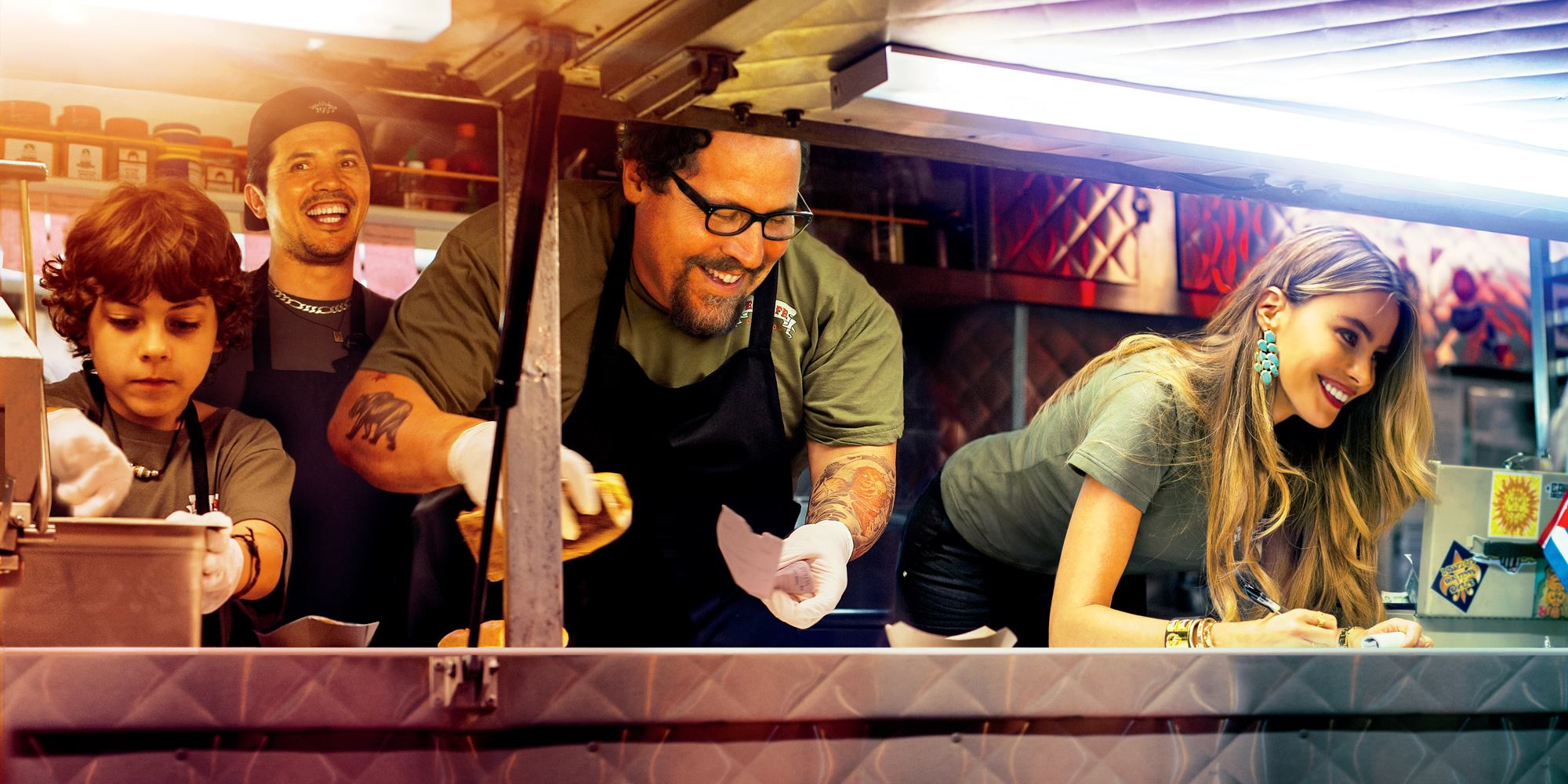 #CHEF - visuel bandeau large image du film Jon Favreau - Go with the Blog