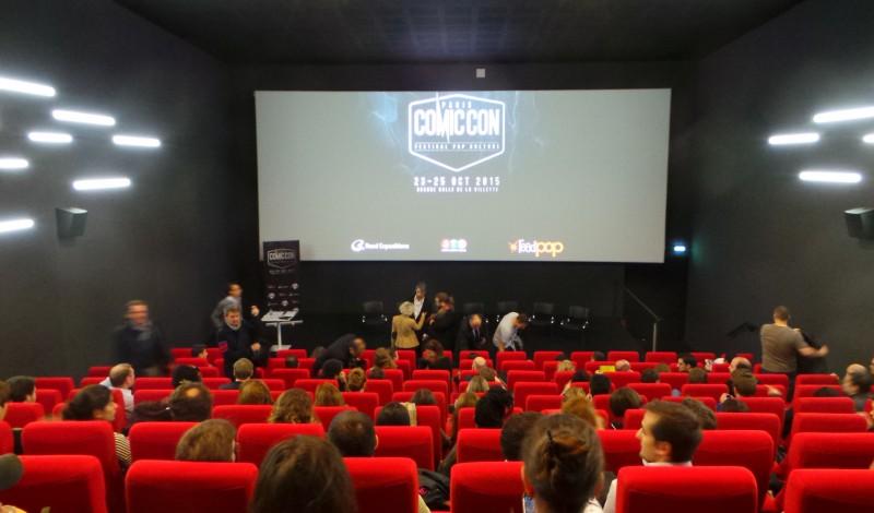 COMIC CON PARIS 2015 - Conférence de Presse Octobre 2014 Pathé Beaugrenelle Image 5 - Go with the Blog