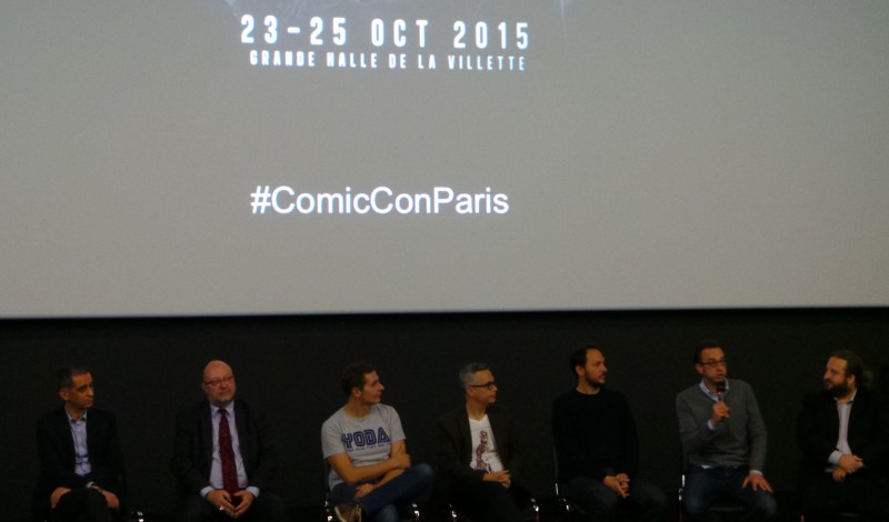 COMIC CON PARIS 2015 - Conférence de Presse Octobre 2014 Pathé Beaugrenelle Image 9 - Go with the Blog