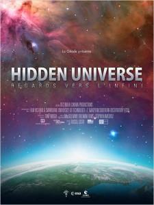 HIDDEN UNIVERSE - affiche documentaire La Géode 2014 - Go with the Blog
