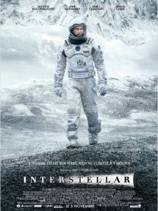 INTERSTELLAR - affiche France Matthew McConaughey Christopher Nolan - Go with the Blog