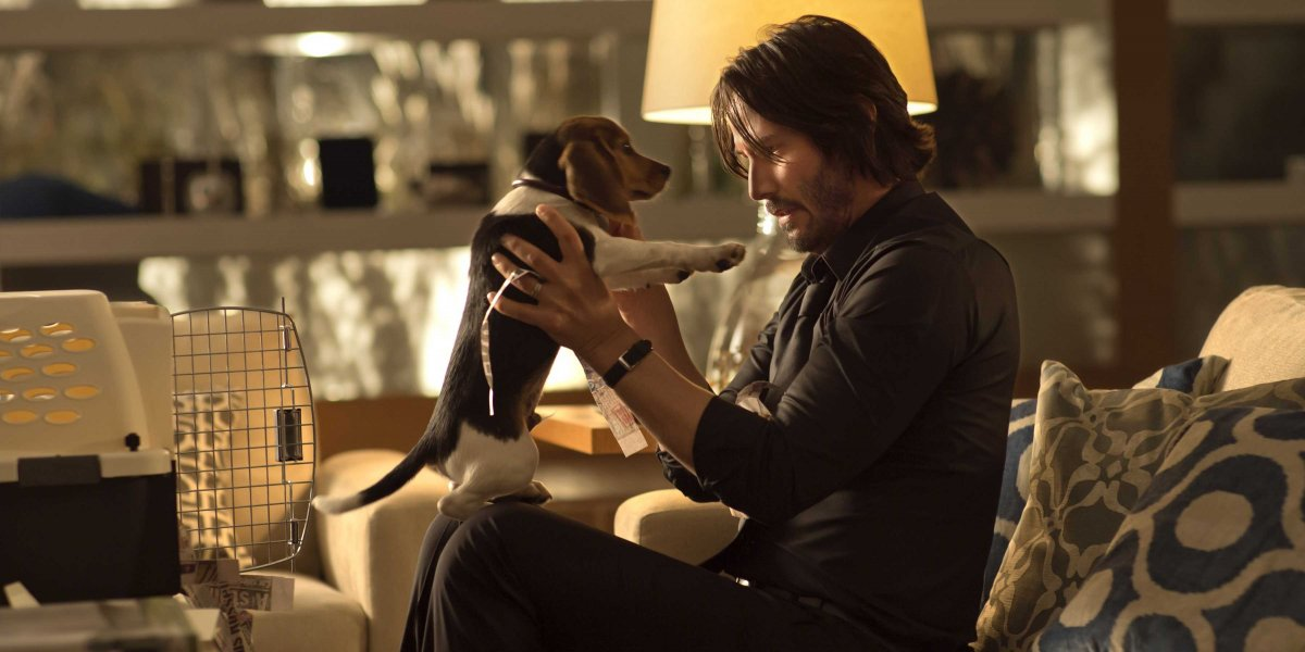 JOHN WICK - Keanu Reeves Dog movie 2014 - Go with the Blog