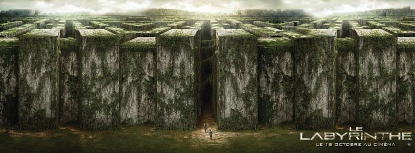LE LABYRINTHE - visuel bandeau film The Maze Runner - Go with the Blog