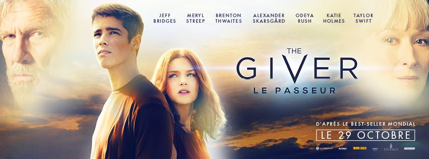 THE GIVER - bandeau visuel large film 2014 Le Passeur Thwaites - Go with the Blog
