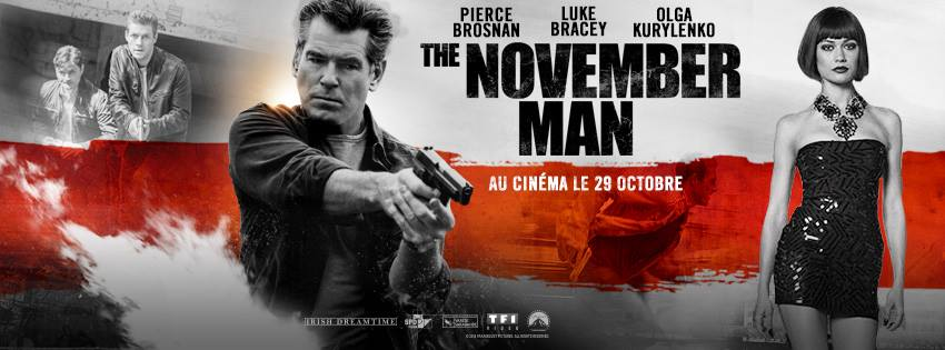 THE NOVEMBER MAN - bandeau du film Pierce Brosnan - Go with the Blog