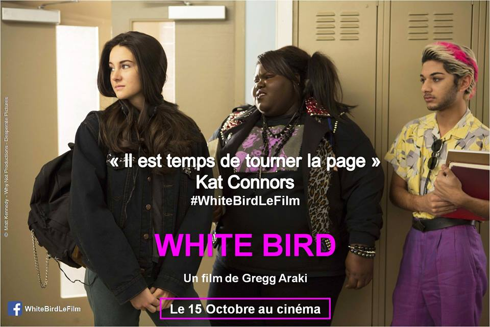 WHITE BIRD - concours film White Bird Shailene Woodley - Go with the Blog