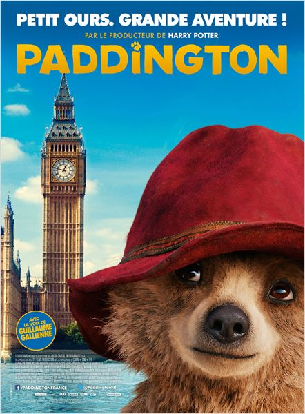 PADDINGTON - affiche du film