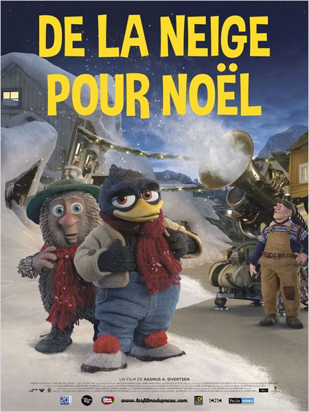 de la neige pour noel - go with the blog - affiche du film