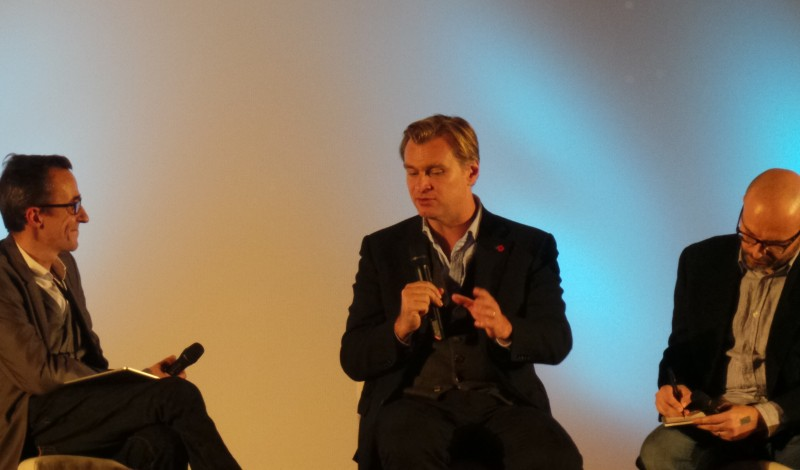 Christopher Nolan - Masterclass INTERSTELLAR Paris Photo 5 - copyright Go with the Blog