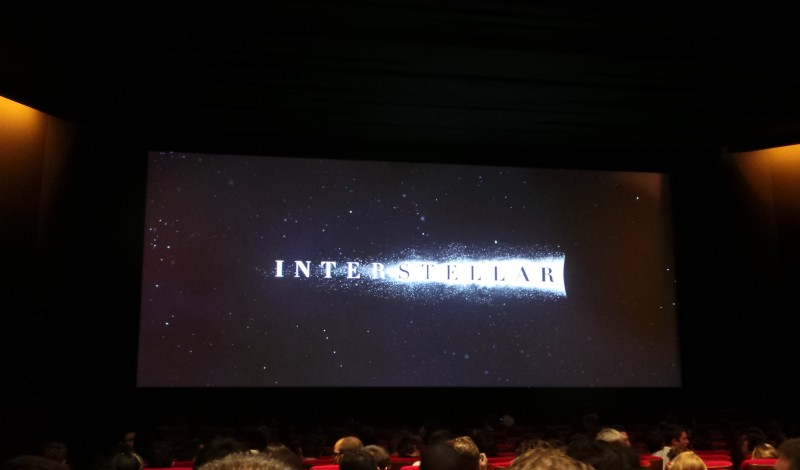 Christopher Nolan - Masterclass INTERSTELLAR Paris Photo 6 - copyright Go with the Blog