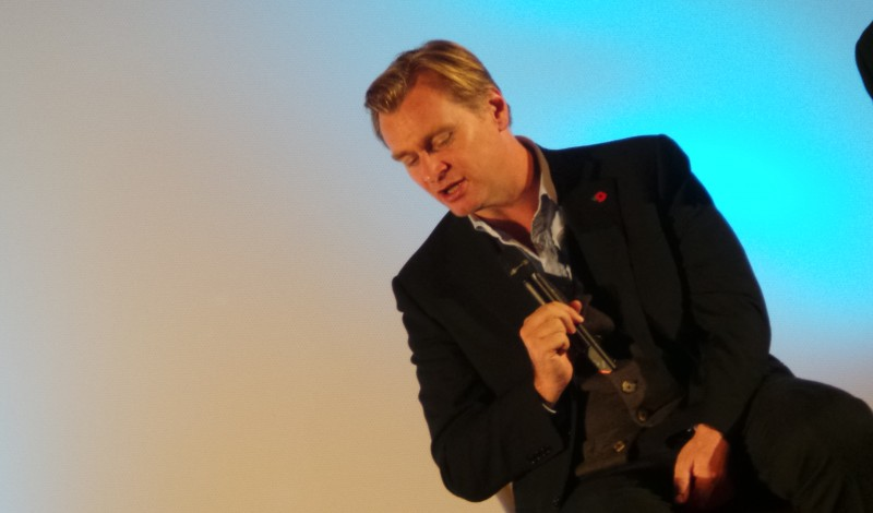Christopher Nolan - Masterclass INTERSTELLAR Paris Photo 8 - copyright Go with the Blog