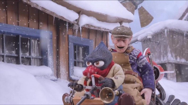 DE LA NEIGE POUR NOËL - image du film Norvège Solan og Ludvig - Jul i Flåklypa - Go with the Blog