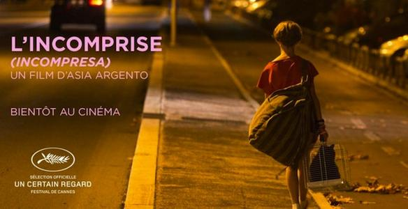 L'INCOMPRISE - Incompresa image 2 du film Asia Argento 2014 - Go with the Blog