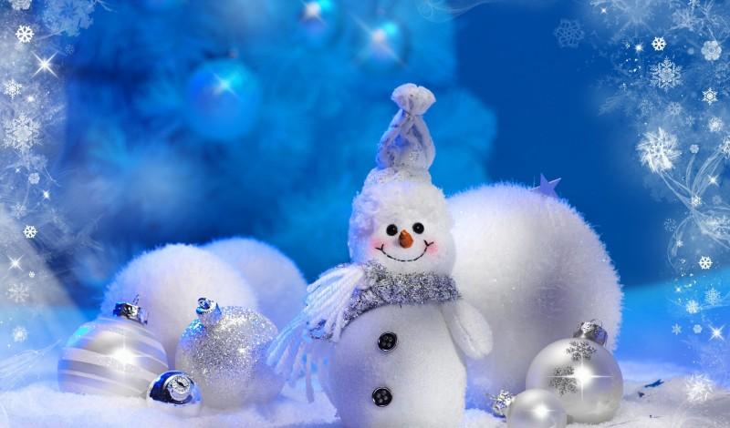 NOEL - visuel bonhomme de neige Neige pour Noel - Go with the Blog