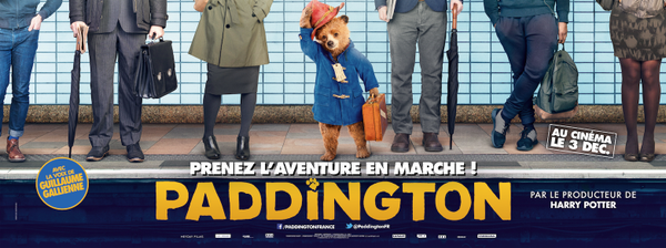 PADDINGTON - visuel transports en commun film Studio Canal - Go with the Blog