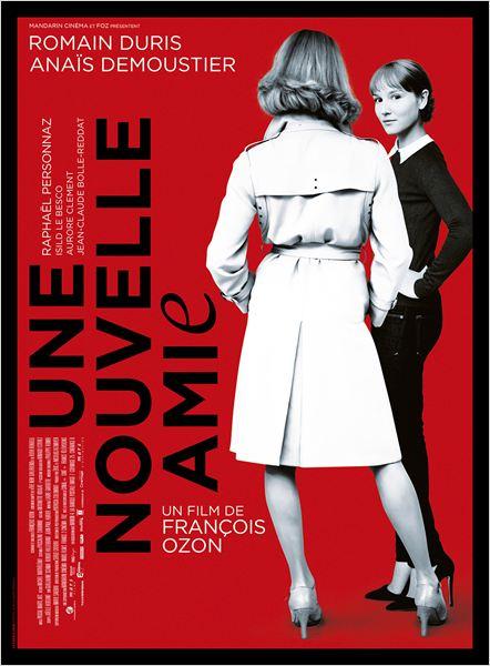 UNE NOUVELLE AMIE - affiche du film concours François Ozon - Go with the Blog